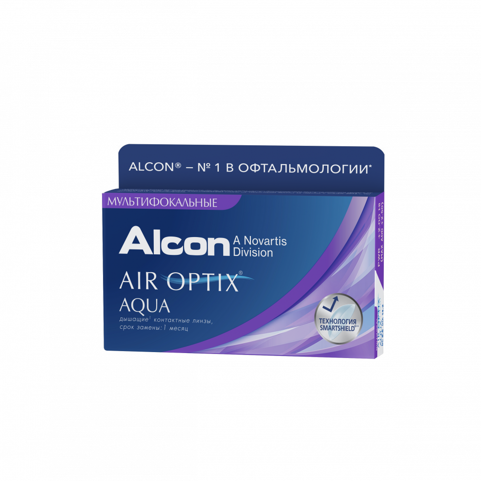 AIR OPTIX AQUA MULTIFOCAL (3ШТ).